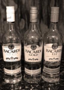 My pathetic early rum selection