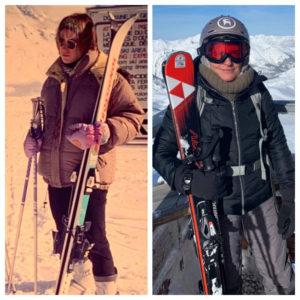 Ski technology in the 1990's vs now