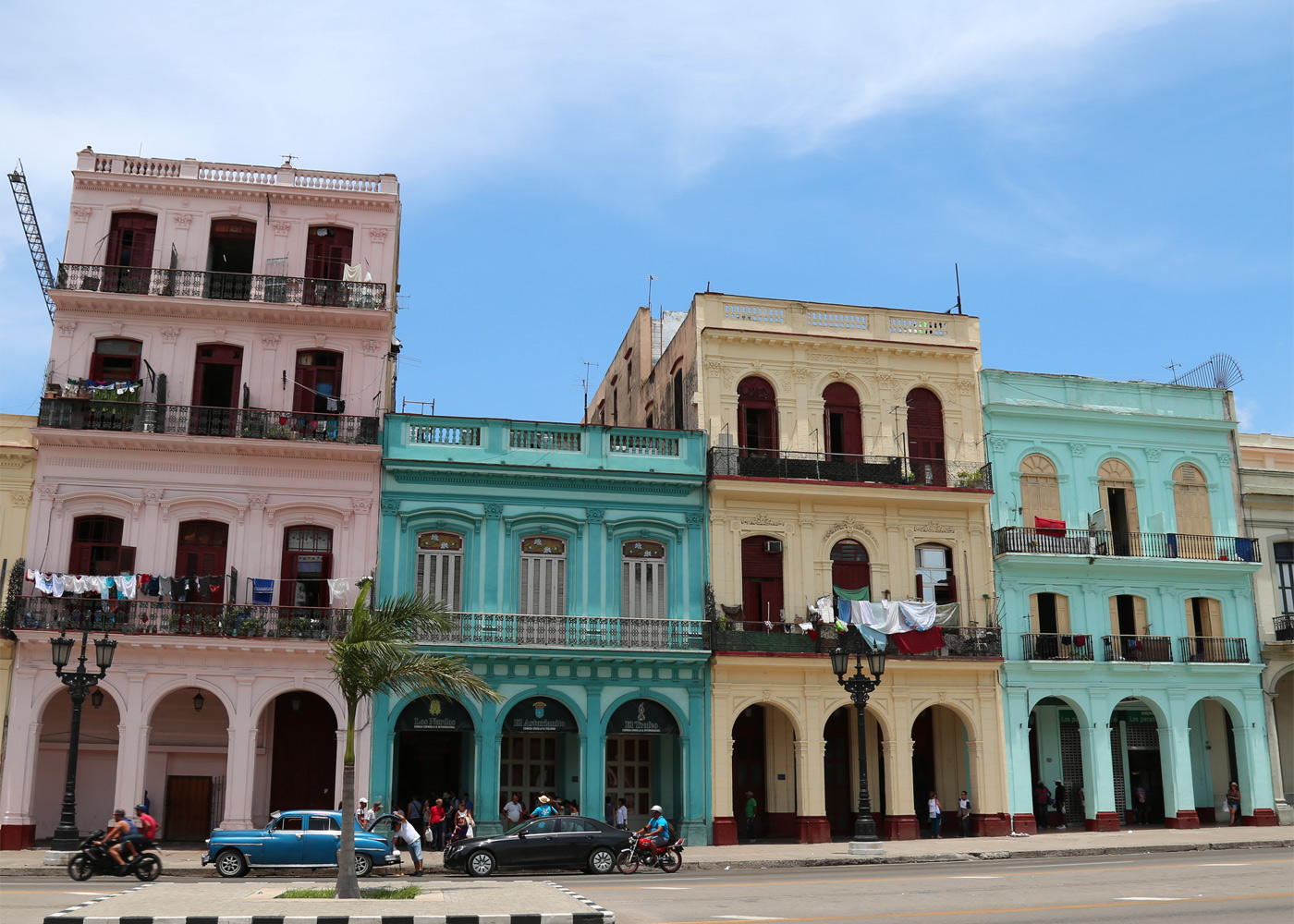 Across from the Capitol, Havana, Cuba