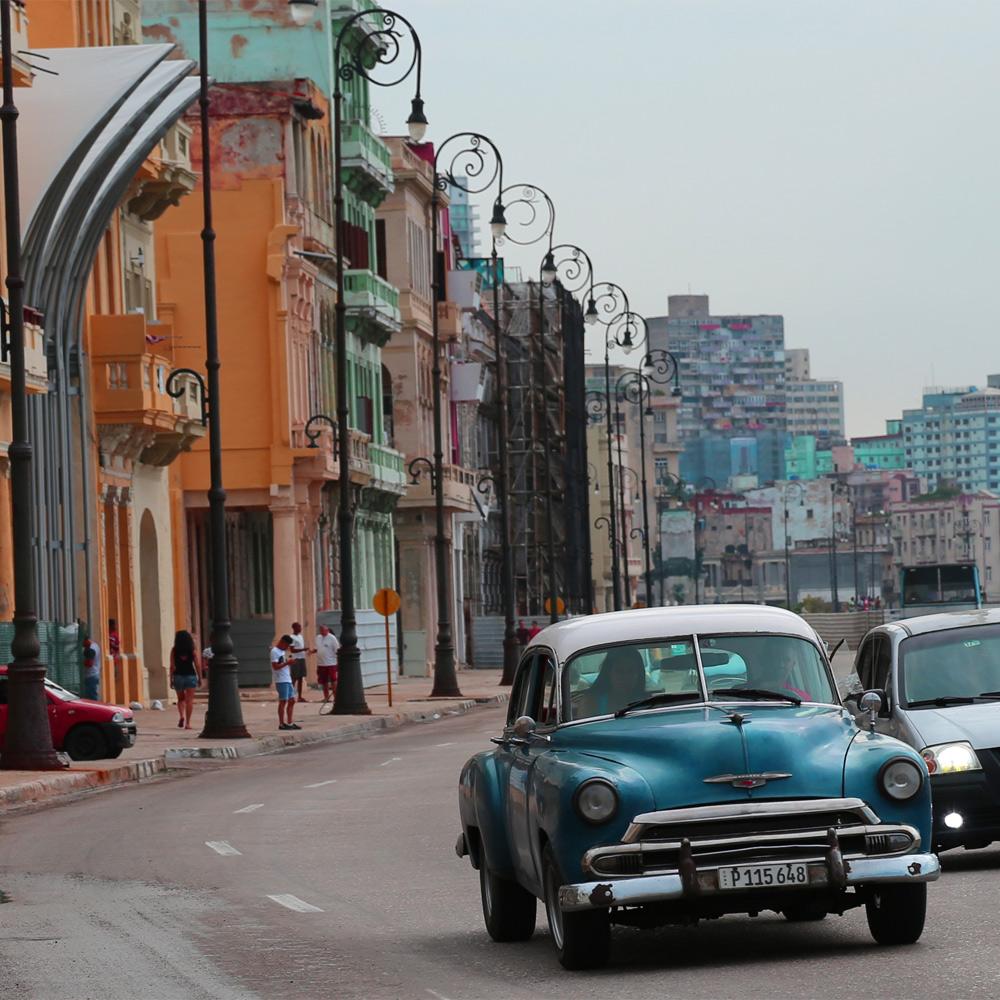The Malecón, Havana, Cuba,