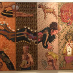 Rubén Torres Llorca (1986). Te llevo bajo mi piel [Mixed technique on canvas and Masonite board painting]. Havana, Cuba: Museo Nacional de Bellas Artes de La Habana